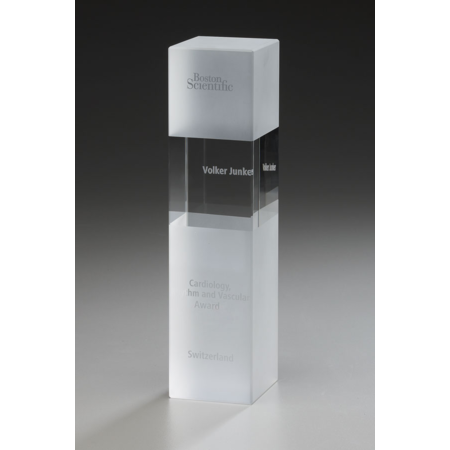 Crystal Ice Cubix Award
