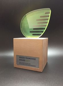 Green Franchise Award (Umsetzung 2017-2020)